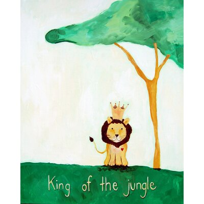 CiCi Art Factory Words of Wisdom King of The Jungle Print
