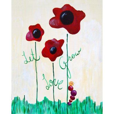 CiCi Art Factory Words of Wisdom Let Love Grow Paper Print