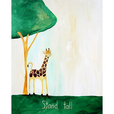 CiCi Art Factory Words of Wisdom Stand Tall Paper Print
