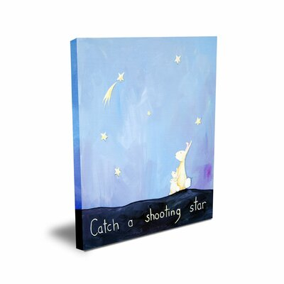CiCi Art Factory Words of Wisdom Catch a Shooting Star Canvas Art
