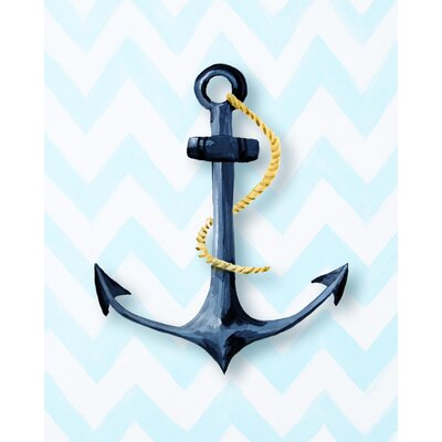 CiCi Art Factory Nautical Anchor Paper Print