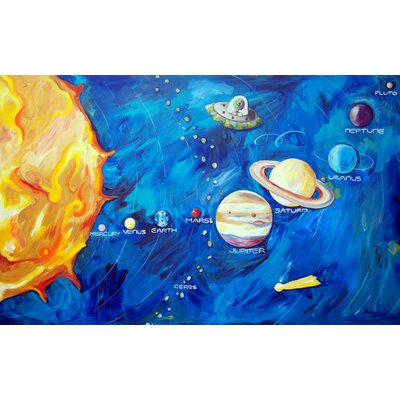 CiCi Art Factory Solar System Canvas Art