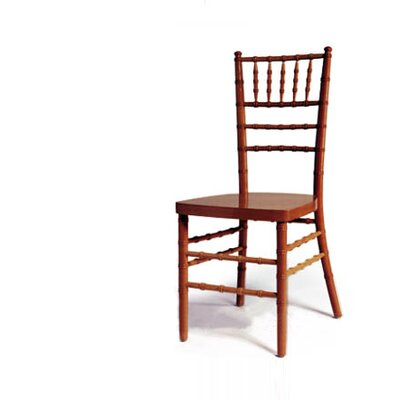 Advanced Seating Chiavari Chair in Fruitwood with Optional Cushion