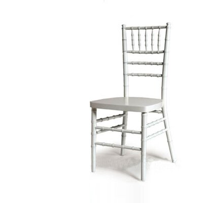 Advanced Seating Chiavari Chair in White with Optional Cushion