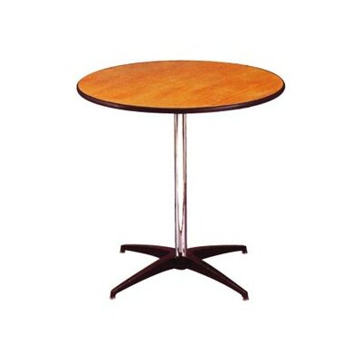 Advanced Seating Round Pedestal Plywood Table