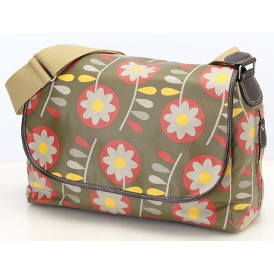 OiOi Retro Messenger Diaper Bag