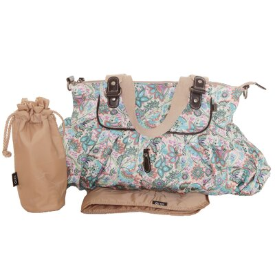 OiOi Gathered Tote Diaper Bag