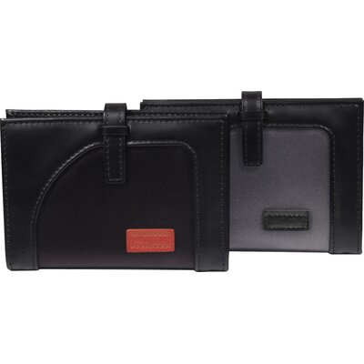 Aaron Irvin Microfiber Nylon Accessories Card Case with Tab