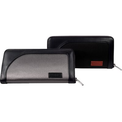 Microfiber Nylon Accessories Bi-Fold Wallet