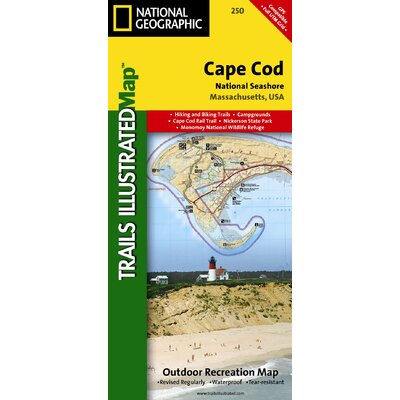 National Geographic Maps Trails Illustrated Map Cape Cod