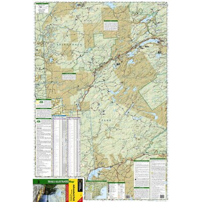 National Geographic Maps Trails Illustrated Map Old Forge / Oswegatchie, Adirondack Park