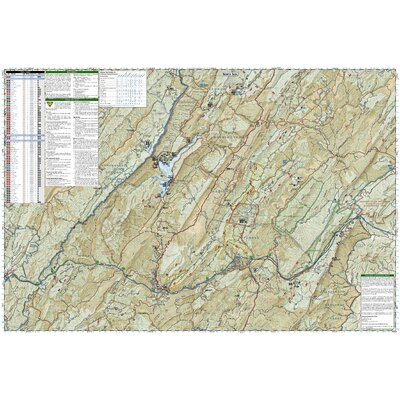 National Geographic Maps Trails Illustrated Map Covington / Alleghany Highlands, G.W. & Jefferson National Forests