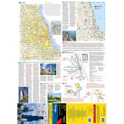 National Geographic Maps Chicago Map