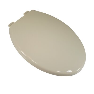 Comfort Seats Deluxe Plastic Euro Design Elongated Toilet Seat