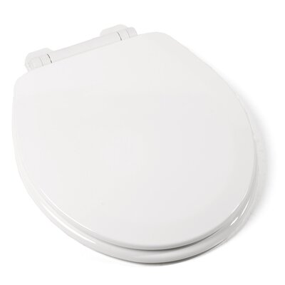EZ Close Deluxe Molded Wood Round Toilet Seat