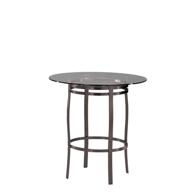 Trica Bourbon Round Dining Table