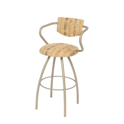 Cookie Swivel Bar Stool with Cushion