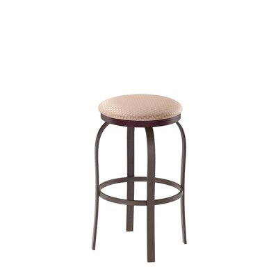 Truffle Swivel Bar Stool with Cushion