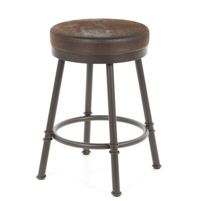 Trica Sal Swivel Bar Stool with Cushion