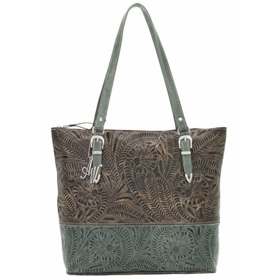 Uptown Girl Zip-Top Briefcase Tote