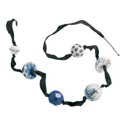 Makkum Cultured Pearl Necklace in Blue Collection by Alexander van Slobbe