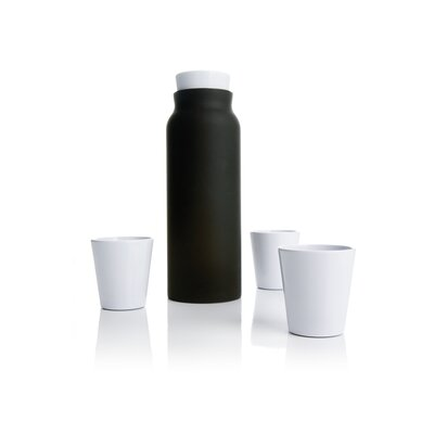 Royal VKB Carafe and Tumblers in Anthracite
