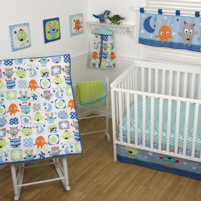 Sumersault Monster Babies Crib Bedding Collection