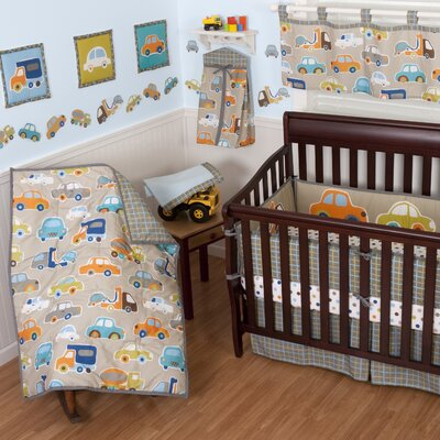 Sumersault Gridlock Crib Bedding Collection