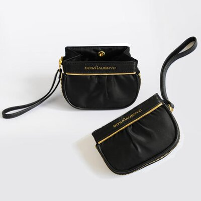 BowhausNYC Wristlet Water Bowl in Black