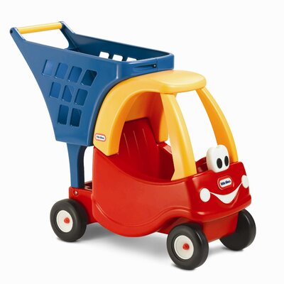 Little Tikes Cozy Coupe Shopping Cart Push Ride-On