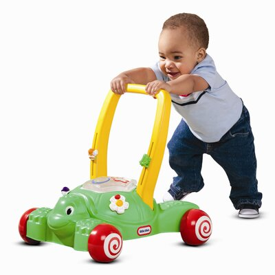 Little Tikes 2-in-1 Play Turtle Push/Scoot Ride-On