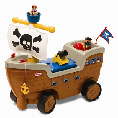 Little Tikes Play 'N Scoot Pirate Ship Push Ride-On
