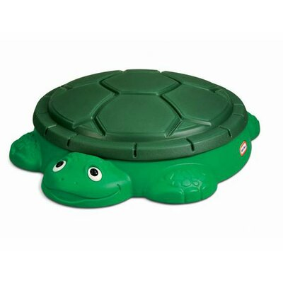 Little Tikes Turtle 4' Round Sandbox with Cover