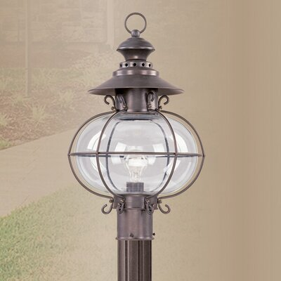 Livex Lighting Harbor 1 Light Outdoor Post Lantern
