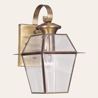 Livex Lighting Westover 1 Light Outdoor Wall Lantern
