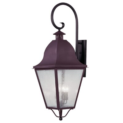 Livex Lighting Amwell 4 Light Outdoor Wall Lantern