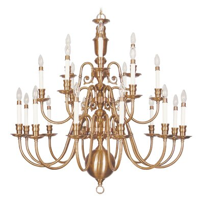Livex Lighting Beacon Hill 21 Light Chandelier
