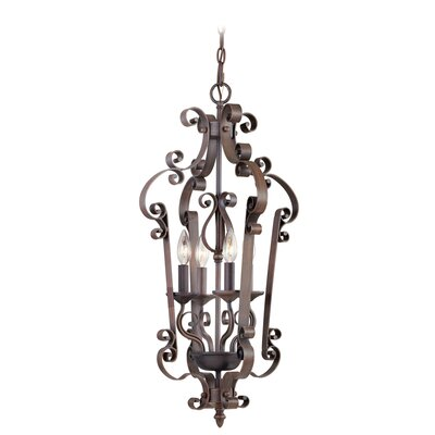 Manchester 4 Light Foyer Pendant