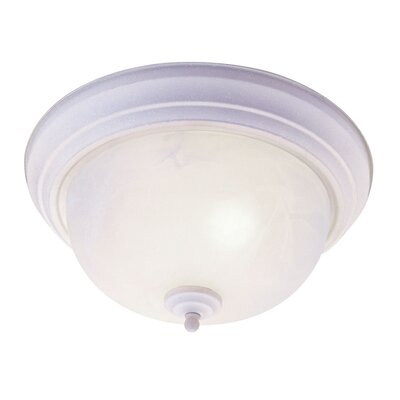Livex Lighting North Port 3 Light Flush Mount