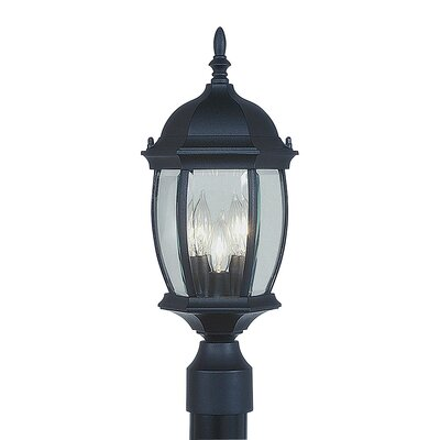 Livex Lighting Kingston 3 Light Outdoor Post Lantern