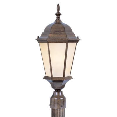 Livex Lighting Hamilton 3 Light Outdoor Post Lantern