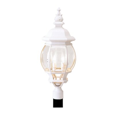 "Livex Lighting Frontenac 4 Light 10.25"" Outdoor Post Lantern"