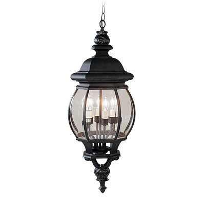 Livex Lighting Frontenac 4 Light Outdoor Hanging Lantern