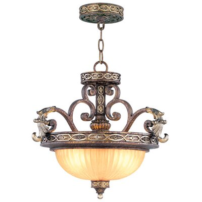 Livex Lighting Seville Convertible Inverted Pendant