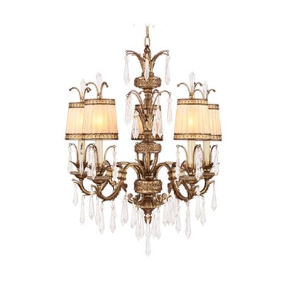 Livex Lighting La Bella 5 Light Chandelier