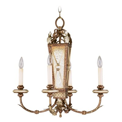 Livex Lighting Bristol Manor 4 Light Chandelier