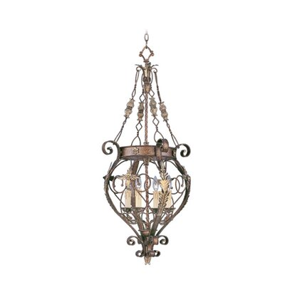 Livex Lighting Pamplona 4 Light Foyer Pendant