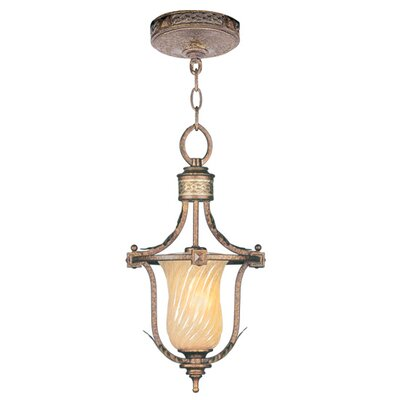 Bristol Manor 1 Light Convertible Foyer Pendant
