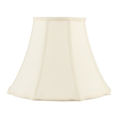 Livex Lighting Bell Star Shantung Silk Lamp Shade in Off White