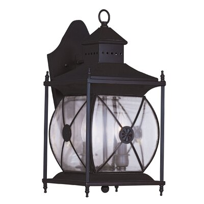 Livex Lighting Providence 2 Light Outdoor Wall Lantern